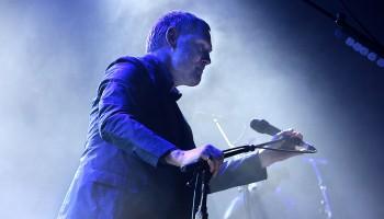 David Gray performing at the INEC Killarney