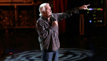 The Legendary Kenny Rogers, American Singer, Song-Writer performing at the INEC, Killarney