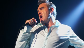 Morrissey performing at the INEC Killarney