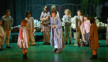 Annie the Musical performing at the INEC Killarney