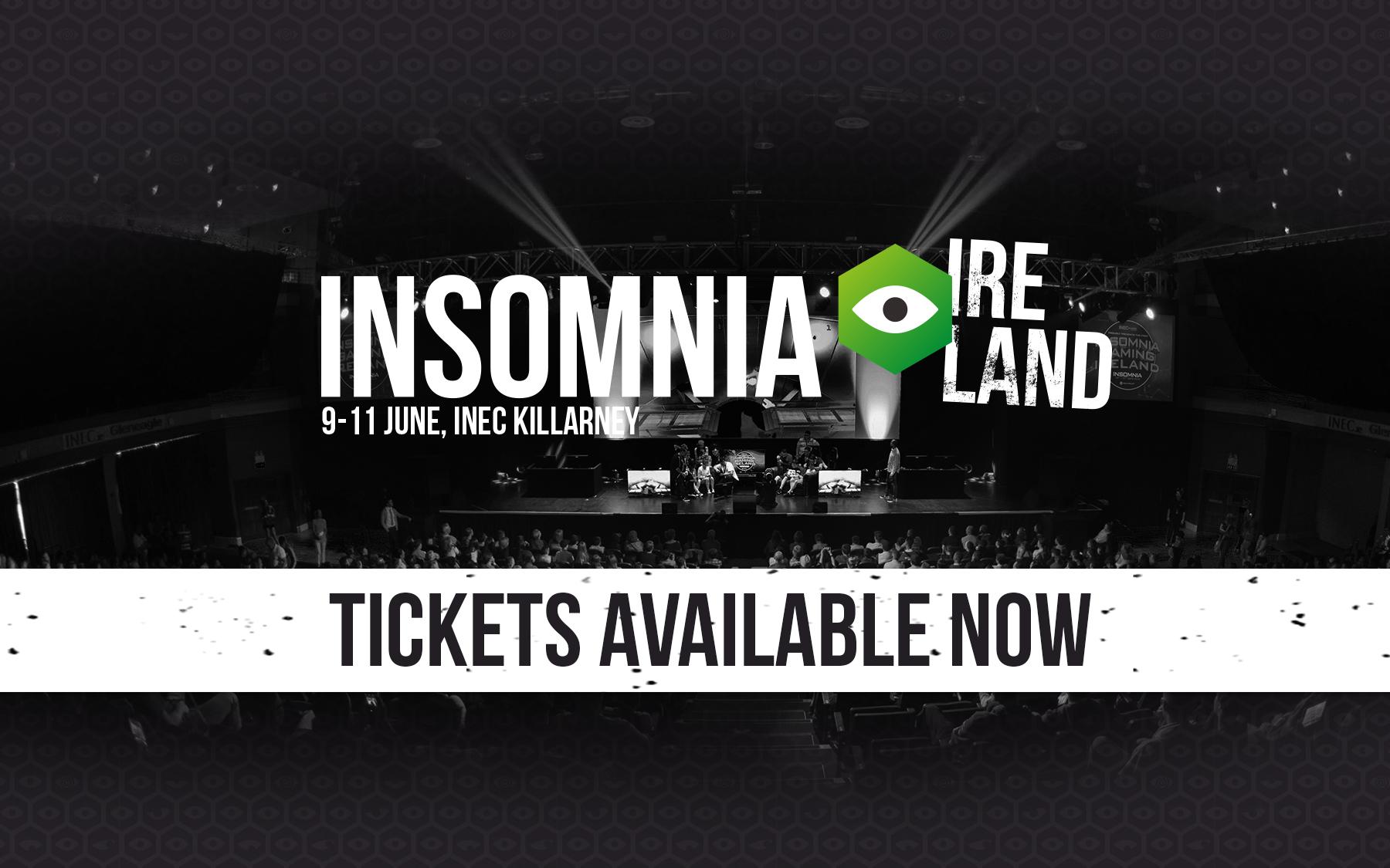 Insomnia Gaming Festival returns to the INEC Killarney