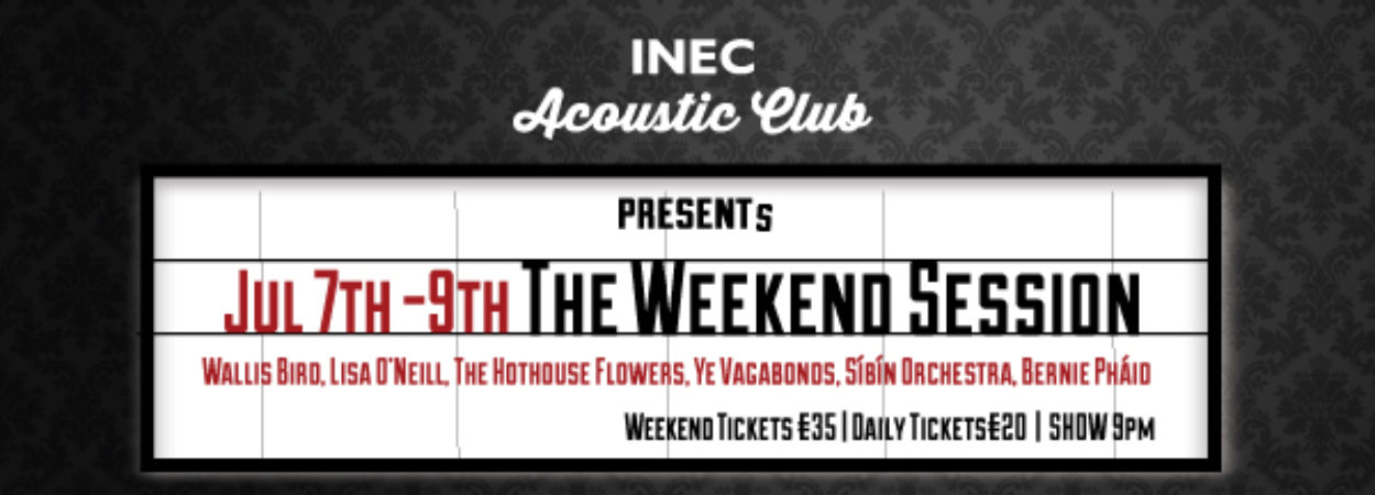 The INEC Acoustic Club Weekend Session