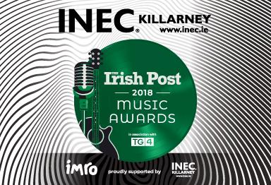 The innaugural Irish Post Music Awards comes to the INEC Killarney on June 7th 2018