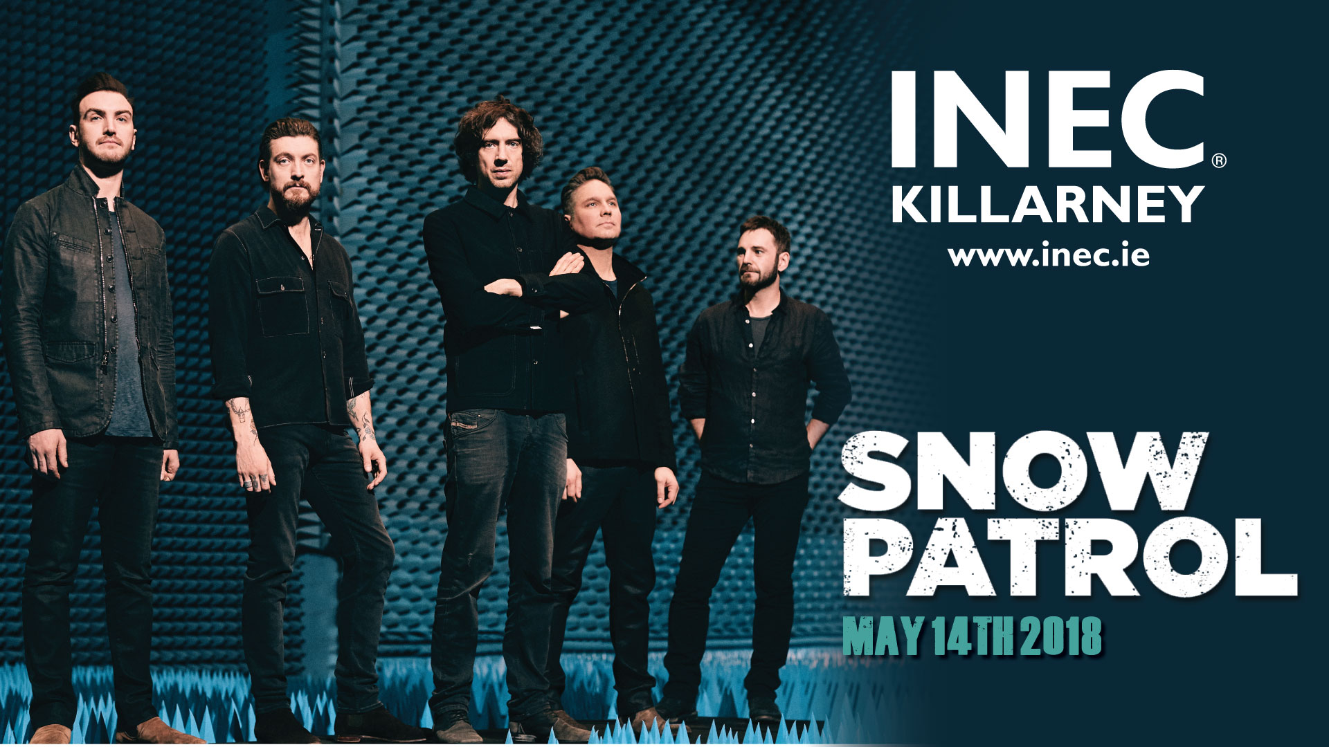 Snow Patrol return to the INEC Killarney on MAy 14th 2018