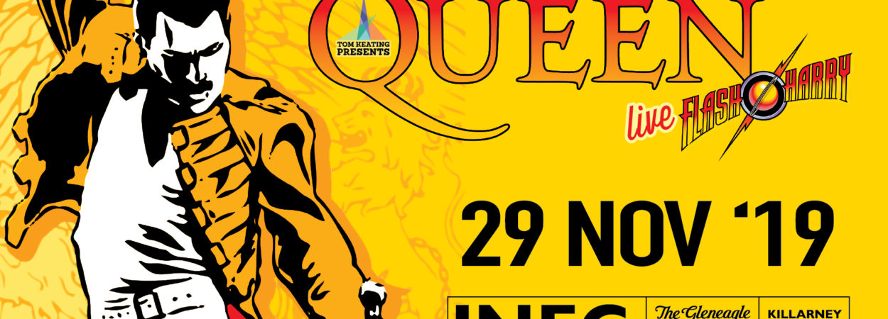 Flash Harry A Celebration of Queen LIVE  comes to the INEC Killarney on November 29th 2019