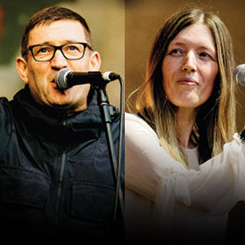 Paul Heaton and Jacqui Abbott perform at the Gleneagle INEC Arena on April 12th 2020