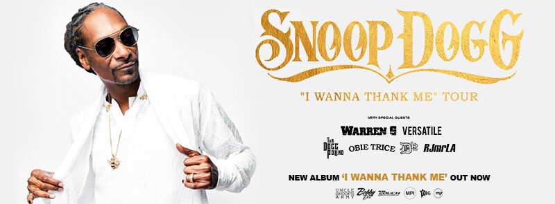 Snoop Dogg – I Wanna Thank Me' Tour